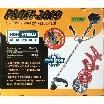 Мотокоса Ижмаш БК-4300 Профи купить недорого