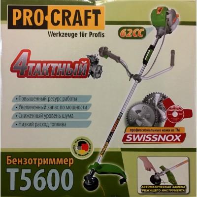 Мотокоса ProCraft T-5600 Четырехтактная Оригинал Модель 2020 Года